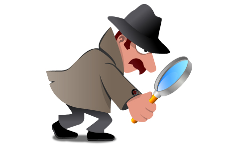 15 Sleuth Large on Queen Clip Art