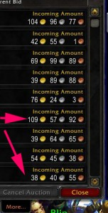Typical Glyph Prices