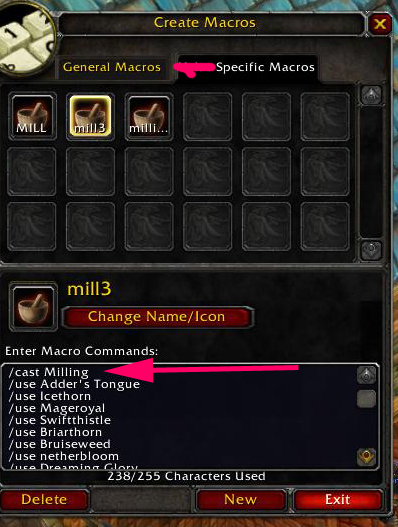 macro How to Make WoW Gold With Glyphs