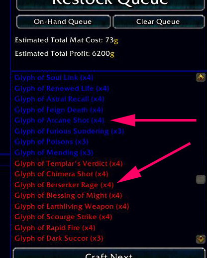 nomats How to Make WoW Gold With Glyphs