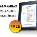 Daily Gold Cheat Sheet