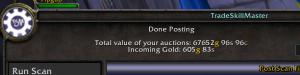 bix 300x75 World of Warcraft   My Gold Snapshot