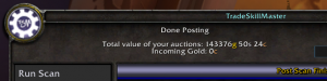 hea 300x75 World of Warcraft   My Gold Snapshot