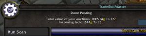 hyl 300x75 World of Warcraft   My Gold Snapshot