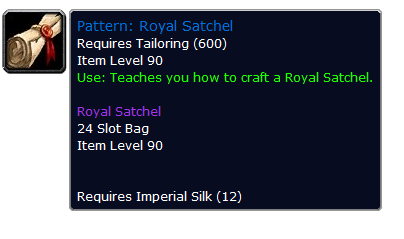 royalsatchel Royal Satchel Mists of Pandaria Bags