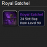 Royal Satchel Mists of Pandaria Bags