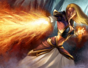Jaina Proudmoore TCG 300x232 All Quiet on the Durotar Front