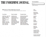 The Undermine Journal Best Sellers