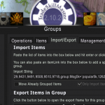 Transmog TSM String Lists for Import to TSM Shopping Groups