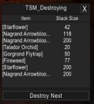 tsmdestroy