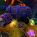 Finding old items in guild banks for sale, using TSM3.