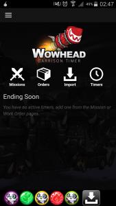 Wowhead Garrison App