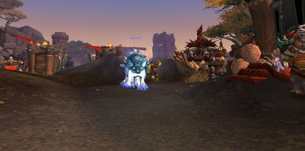 Brandi on her Spectral Tiger