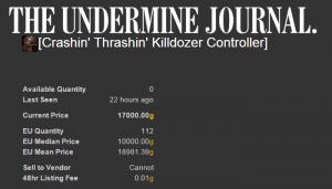 Crashin' Thrashin' Killdozer Controller