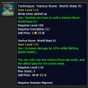 Vantus Rune