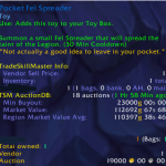 Pocket Fel Spreader Farming