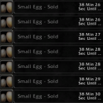 Farming Small Eggs for Winter Veil Gold Making