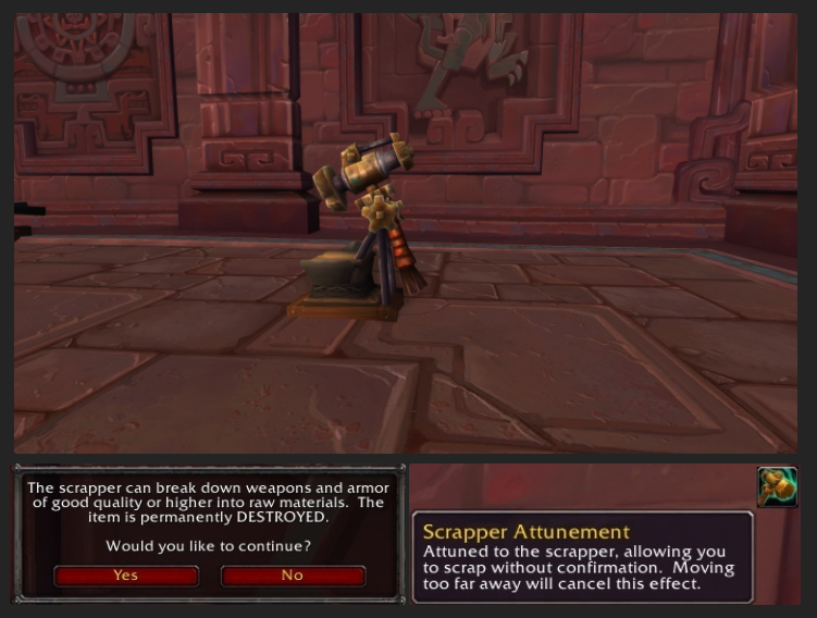 Scrapper Materials Recycling Comes to Azeroth | Warcraft Gold Guides