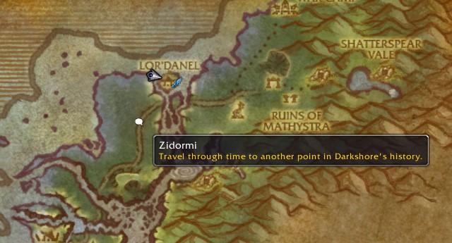 how to get to darnassus from darkshore