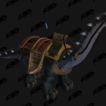 Mighty Caravan Brutosaur 5 Million Gold Mount in Battle for Azeroth