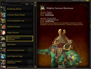 Six New Mounts to Sell in Battle for Azeroth And Where to Get Them