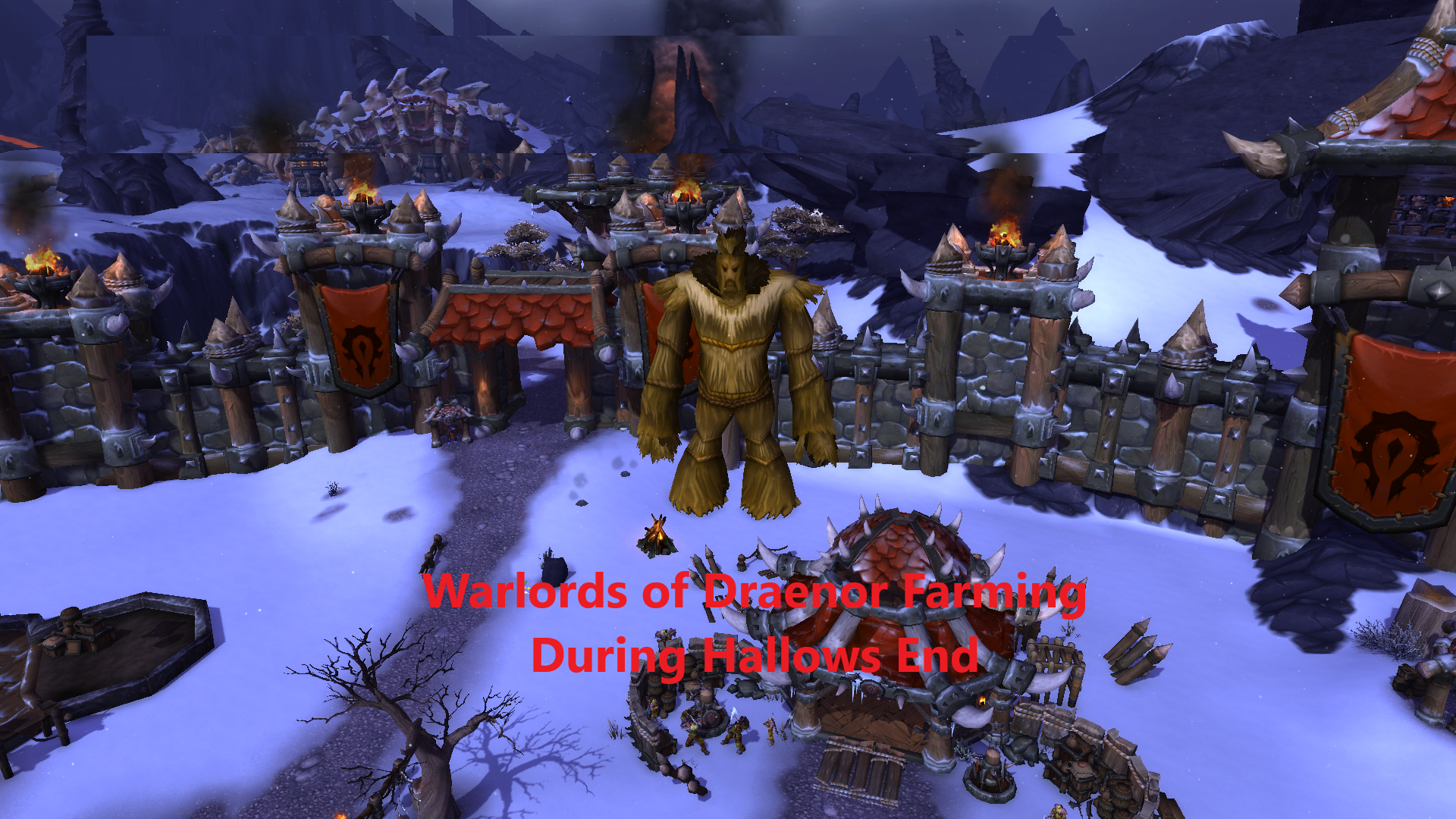 Warlords Of Draenor Farming During Hallows End Warcraft Gold Guides