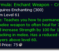 Crusader Enchant Drop