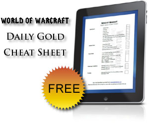 Free Daily Gold Cheet Sheet