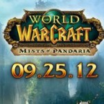 Mists of Pandaria Release 25th Sept