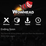 How to Use Wowhead's Garrison App