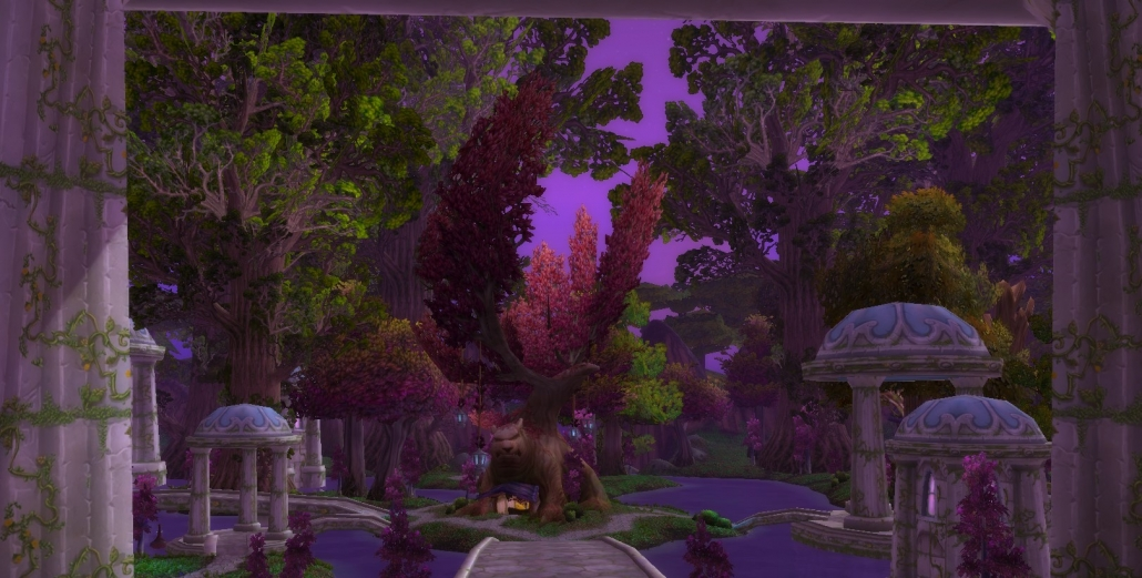 Warcraft Items Removed in Battle for Azeroth from Darnassus